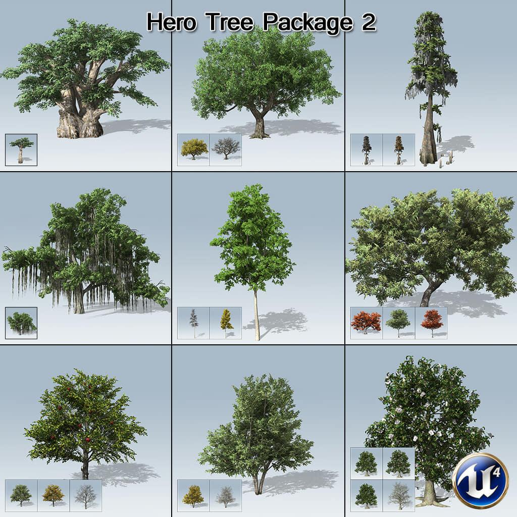 Hero Tree Package 2 (UE4)