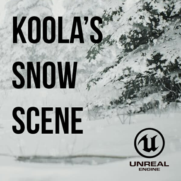 Koola's Snow Example Project (UE4) – SpeedTree
